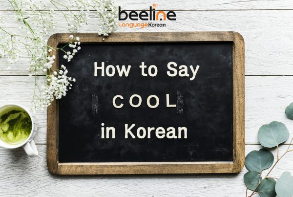 How To Say Cool In Korean