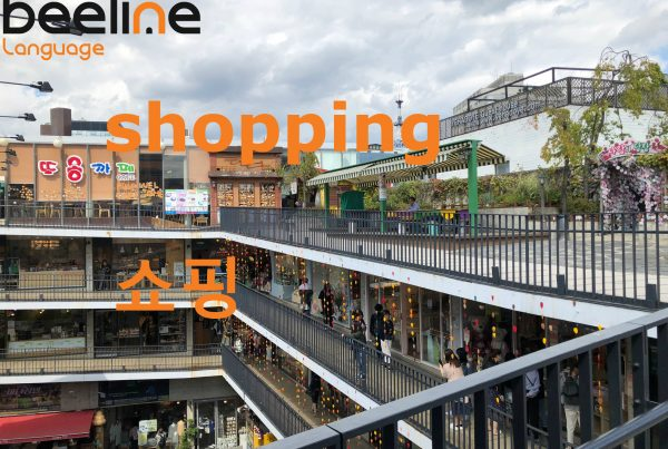 How To Say Shopping in Korean