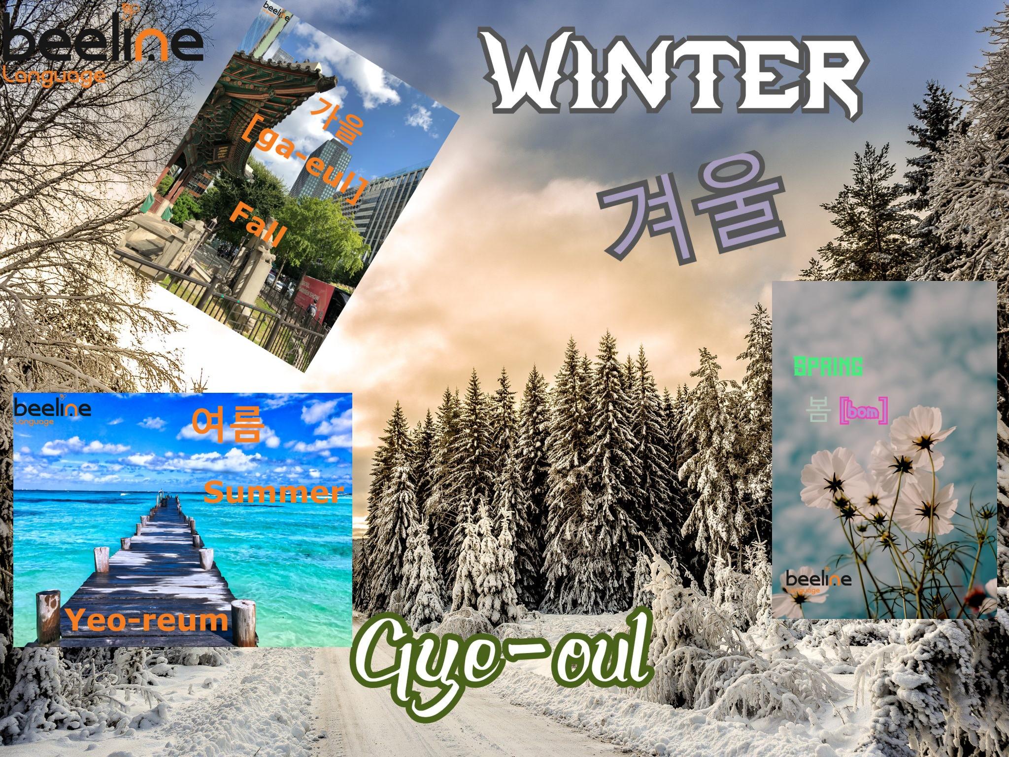 four seasons in korean