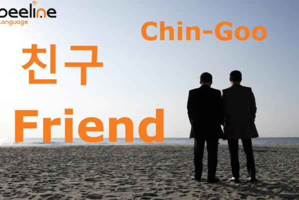 friend in korean