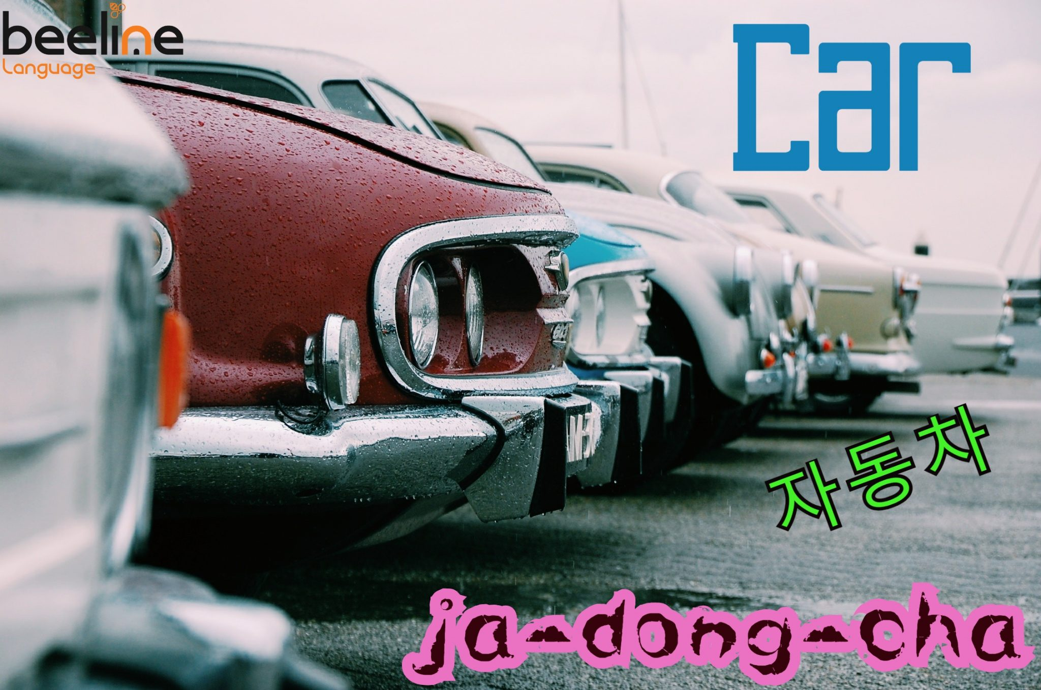 how to say a car in Korean